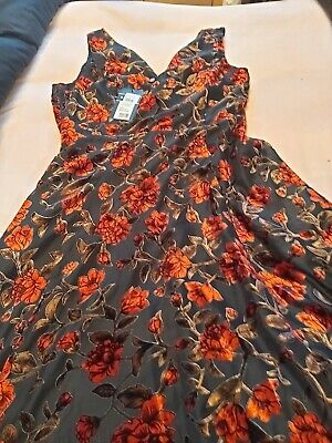 £60 • Buy Isabelle Devore Maxi Dress Size 18 Tall Brand New With Tags High Low In Front