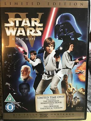 £1 • Buy Star Wars IV A New Hope Limited Edition DVD