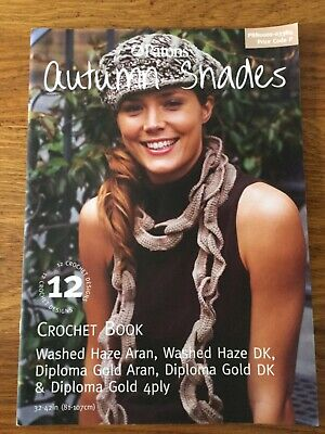 £2.85 • Buy Patons Autumn Shades Crochet Pattern Book. 12 Lovely Designs For Ladies.