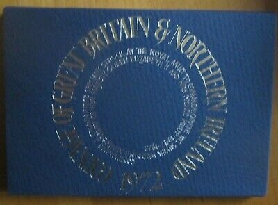 £12.99 • Buy The Coinage Of Great Britain And Northern Ireland 1972 Royal Mint Proof Set