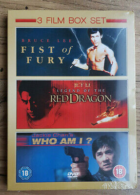 £9.50 • Buy Fist Of Fury/Legend Of The Red Dragon/Who Am I? 2010 (DVD, 3Disc Set) Brand New