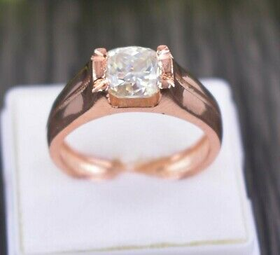 AU41.38 • Buy Gorgeous 1.60Ct Off White Diamond Solitaire Ring Great Shine & Bling WATCH VIDEO