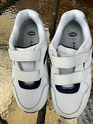 £0.99 • Buy Mens Trainers New Dr Scholls - Easy Fastening - Wide Fitting Uk Size 9 White