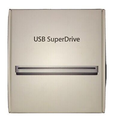 £19 • Buy Apple USB SuperDrive DVD Re-Writer - Silver (MD564ZM/A)