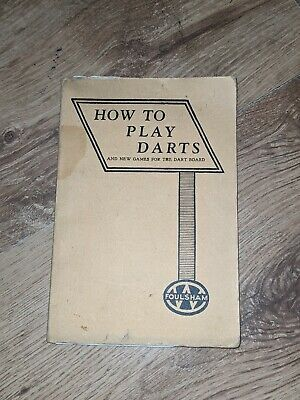 £3 • Buy How To Play Darts Book