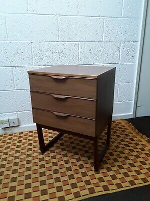£49.99 • Buy VINTAGE RETRO CHEST OF DRAWERS MID-CENTURY BEDSIDE TABLE 1960s  GPLAN ERA L/POOL