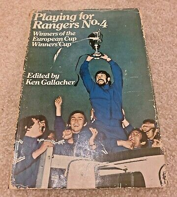 £2.99 • Buy Playing For Rangers No. 4 - Edited By Ken Gallacher - 1972