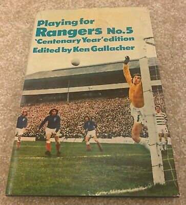 £2.99 • Buy Playing For Rangers No. 5 - 'Centenary Year' Edition - Ken Gallacher - 1973