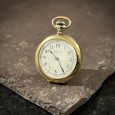 £125 • Buy Antique 1889 Waltham 14ct Gold Filled Fob Pocket Watch, Great Working Condition
