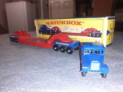 £32 • Buy Matchbox M6 18 Wheel Tractor & Transporter Boxed