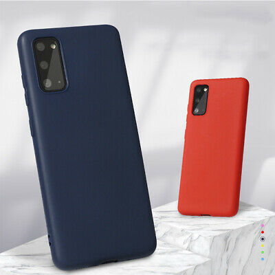 AU7.89 • Buy For Samsung Galaxy S21 S20 Plus S10 S9 Note 20 10 Case Silicone TPU Slim Cover