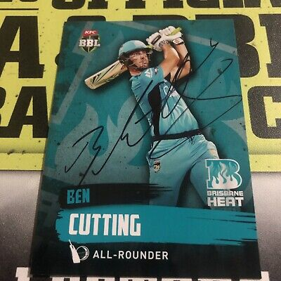 AU0.99 • Buy Ben Cutting Signed 2015/16 Tap N Play Card