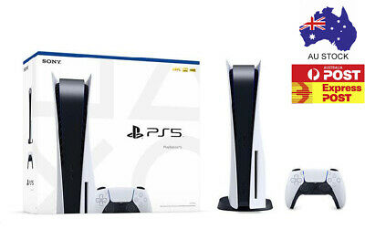 AU1399.99 • Buy Sony Playstation 5 Ps5 Disc Edition - Au Stock - Brand New - Free Express Post