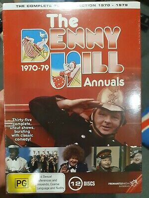 £38.06 • Buy The Benny Hill Annual 1970 - 1979 Dvd Comedy British Tv Series Comedian Show New