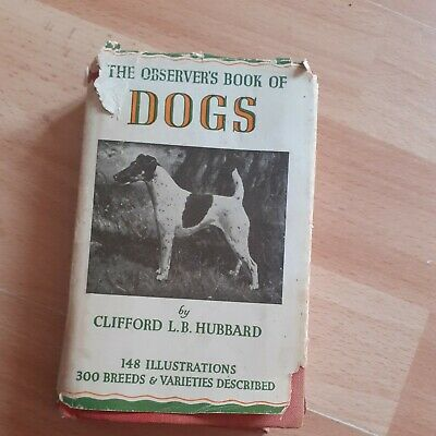 £0.99 • Buy Vintage 1952 The Observers Book Of Dogs Book
