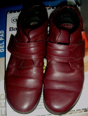 £11.99 • Buy Ladies Hotter Burgundy Leather Boots  (size 6)