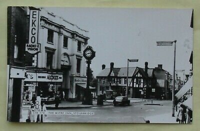 £1 • Buy 1 Old Postcard Of The Mitre Inn, Stourbridge, Worcestershire? (Frith's Series)