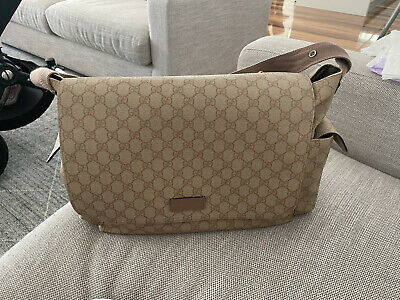 AU551 • Buy Gucci Baby Changing Bag Authentic GG Supreme