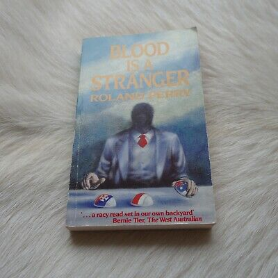 AU16.66 • Buy ROLAND PERRY Blood Is A Stranger 1989 AUSTRALIAN Murder Book Killer Search Book