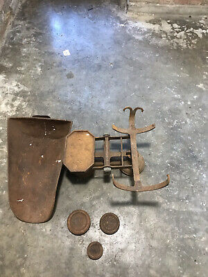 £40 • Buy Vintage Cast Iron Weighing Scales With Weights