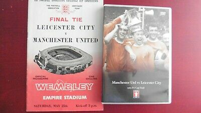 £20 • Buy FA Cup Final 1963 - Manchester United Vs Leicester (DVD, 2005)