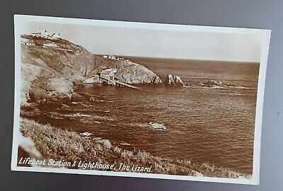 £0.99 • Buy Cornwall. The Lizard. Black And White Real Photograph Postcard.