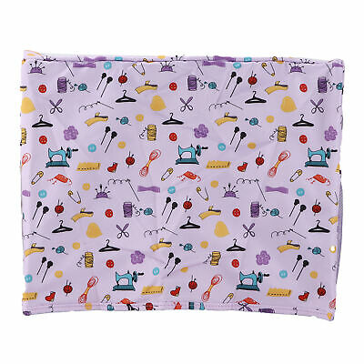 AU24.63 • Buy Sewing Machine Table Cover Purple Household Product Storage Dust Protection Mat