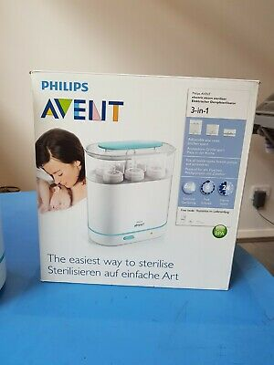 AU10 • Buy Philips Avent 3-in-1 Electric Steam Steriliser, Fits All Bottle Types