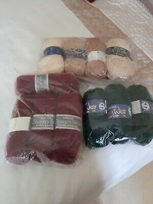 £3.20 • Buy 550 Gms Double Knit Wool Brand New Unused