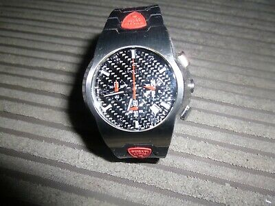 £31 • Buy Breil Milano Ducati Corse Gents Rubber Strap Watch - Used But In Great Condition