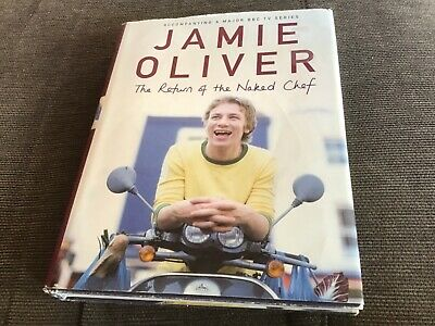 AU2.95 • Buy Jamie Oliver The Return Of The Naked Chef Hard Cover Book