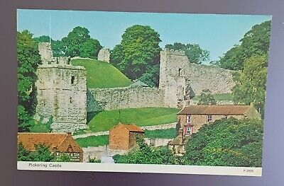 £0.99 • Buy North Yorkshire, Pickering Castle.  Colour Dennis Postcard. Posted 1976.