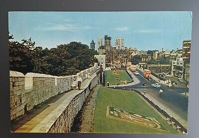 £0.99 • Buy York, North Yorkshire. The City Walls. Colour Postcard. 1960s