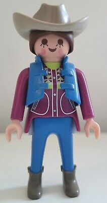 £2 • Buy Playmobil Cowgirl Figure - Western/Country/Stable/Farm/Cowboy/House/Horse