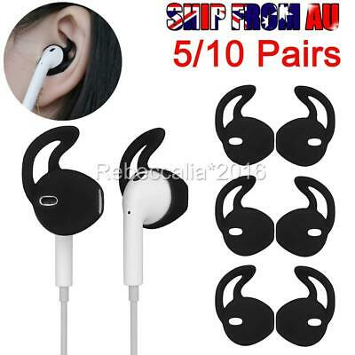 AU8.95 • Buy 5/10 Pairs Silicone Ear Hooks Skin Cover For Apple AirPods AirPod Headphones D