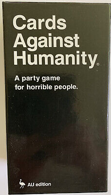 AU19.95 • Buy Cards Against Humanity Australian Edition, Preowned Party Game, Free Shipping