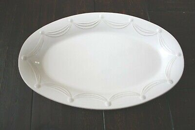 £101.65 • Buy Juliska Berry And Thread Large Oval Serving PLATTER Whitewash 22  Portugal NWT