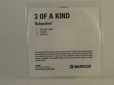 £2.96 • Buy 3 OF A KIND BABYCAKES (H1) 3 Track Promo CD Single White Sleeve RELENTLESS