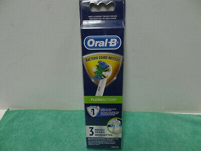 AU16.68 • Buy NEW Oral-B  Floss Action  Electric Toothbrush Replacement Brush Heads - 3ct -