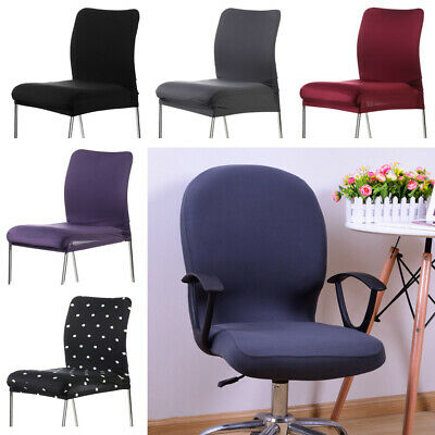 AU7.20 • Buy Anti-dirty Removable Seat Cover Computer Office Swivel Seat Cover Chair Covers