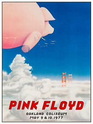 $15.94 • Buy Pink Floyd - POSTER - Live Concert 1977 ANIMALS Tour - AMAZING Wall Art Print