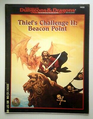 AU50 • Buy AD&D Dungeons & Dragons Thief's Challenge II Beacon Point TSR 9478 - 1995