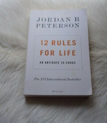 AU15.55 • Buy JORDAN B. PETERSON 12 Rules For Life Antidote To Chaos Psychology Grant Cardone
