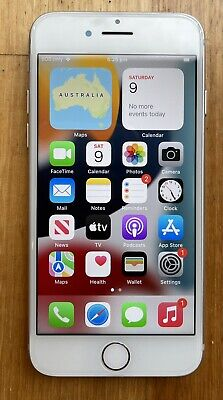 AU66 • Buy Apple IPhone 7 128GB Silver Unlocked A1778 AU Stock Excellent Condition