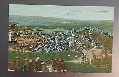 £0.99 • Buy Scarborough, North Yorkshire. Alexandra Gardens. Colour Postcard. Posted 1913.