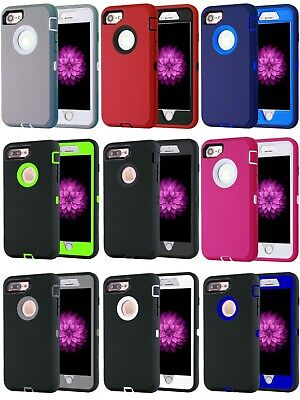 AU9.31 • Buy Shockproof Case Cover For Apple IPhone 6 / IPhone 6 Plus Heavy Duty Case