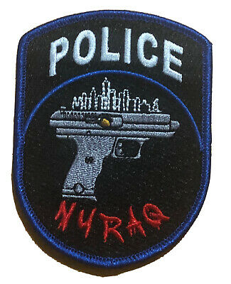 £8.79 • Buy New York City Police Department NYRAQ  Patch.(Embroidered)