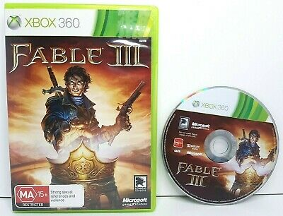 AU14.90 • Buy Fable III (3) - Microsoft Xbox 360 - VGC Includes Manual - TESTED & Working