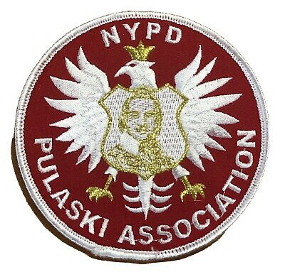 £12.01 • Buy NYPD New York City Police Department Pulaski Association Patch.