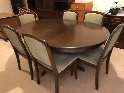 AU1 • Buy Dining Table Extendable And 6 Chairs